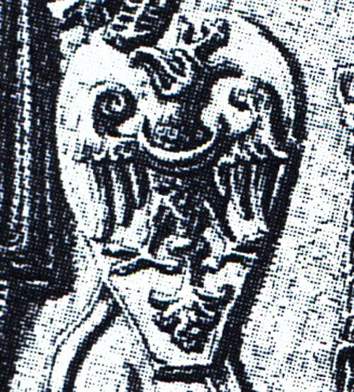 orzeł na pieczęci Przemysła II z 1290 r.