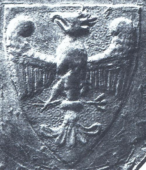 Orzeł z pieczęci majestatycznej Przemysła II, 1295 r.