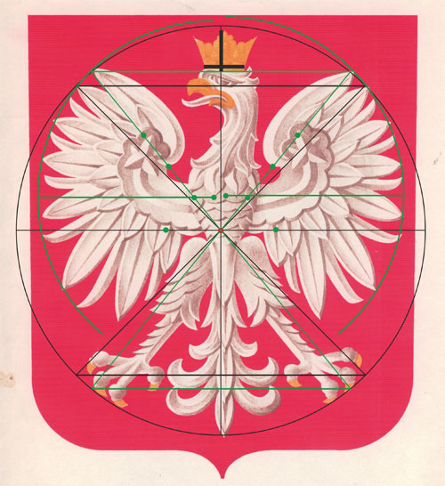 geometria orła A. Heidricha