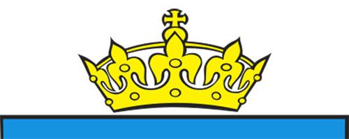 korona na herbie Poznania