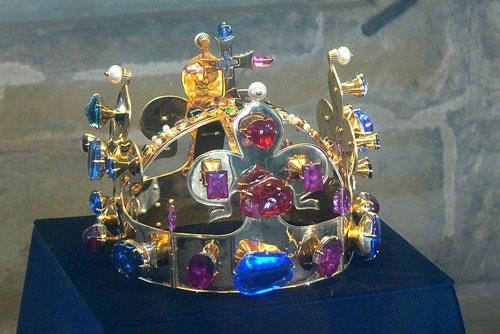 replika korony św. Waclawa