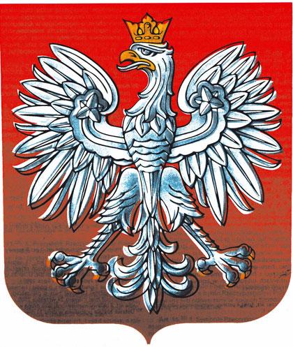 nakładka wersji ideogramowej na herb RP