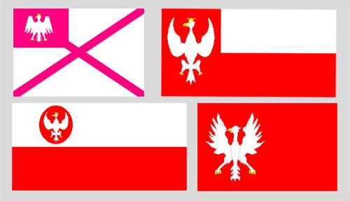 Wybrane projekty bander dla Marynarki Polskiej z lat 1918-1919 – rekonstrukcja barwna KJG 1988