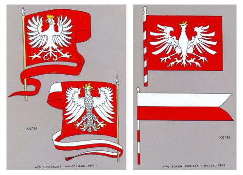 Propozycje F. Kamockiego i  A. Chmiela z 1917 r. – rekonstrukcja barwna KJG 1991