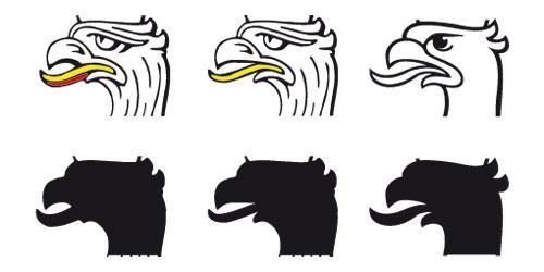 kształt języka orła
