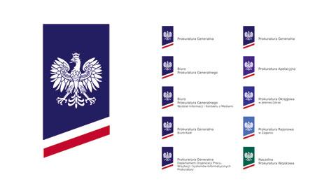 projekt konkursowy znaku Prokuratury Generalnej, alw