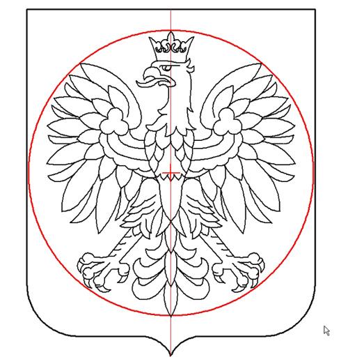 rysunek 1 średnica 1:1, Krzysztof Kurzeja