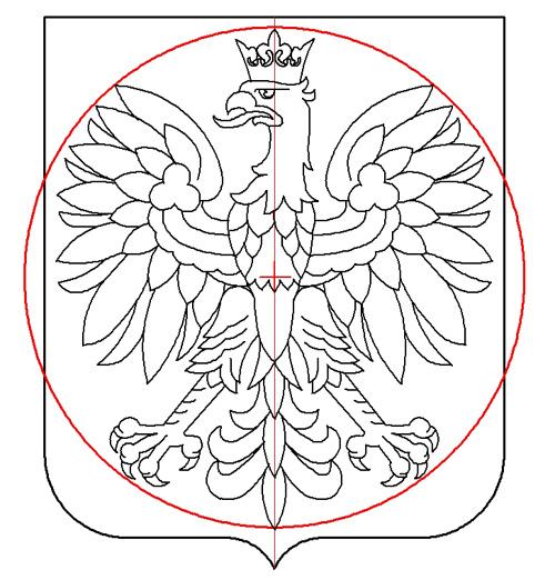 rysunek 2 średnica 1:1,1; Krzysztof Kurzeja