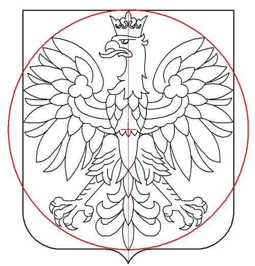 rysunek 1 średnica 1:1,15; Krzysztof Kurzeja