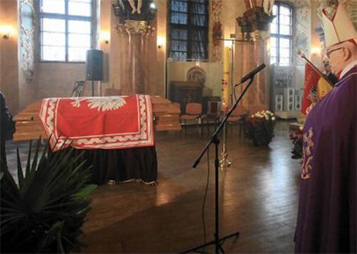 Drugi pogrzeb doczesnych szczątków śp. Ryszarda Kaczorowskiego