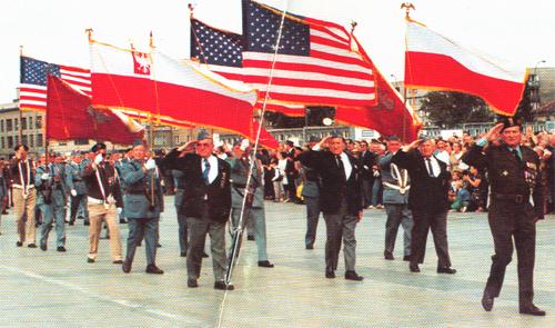 Światowy Zjazd Polskich Kombatantów - Warszawa, 14-15 sierpnia 1992 r.