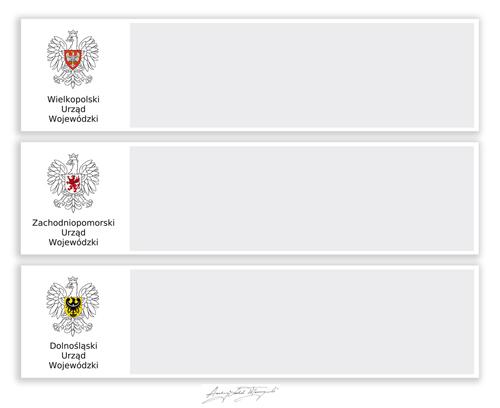 porpozycja 1 sytuowania znaku wojewódzkiego na stronie www, proj. alw