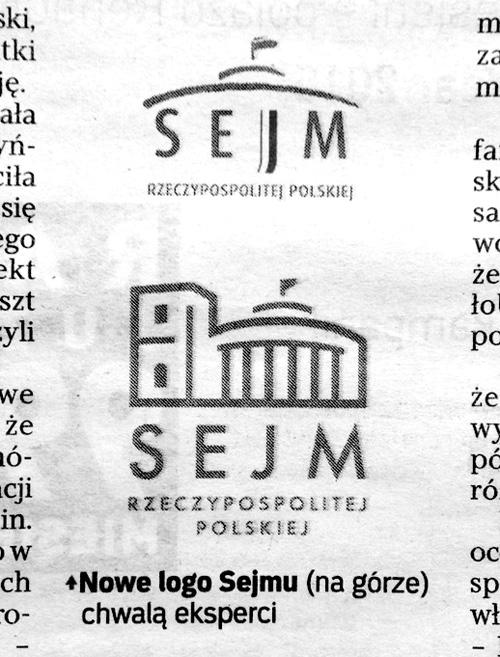 nowe logo sejmu