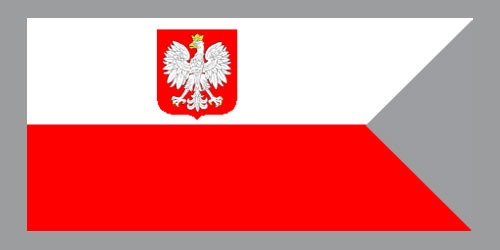 Bandera Polskiej Marynarki Wojennej   (PMW)