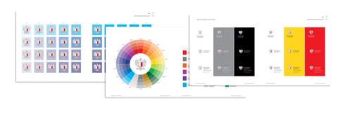 kod kolorystyczny, identyfikacja wizualna, proj. alw