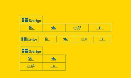 hierarchia znaków szwedzkich z nowym znakiem marki Szwecji