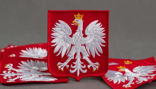 naszywka godło Rzeczypospolitej