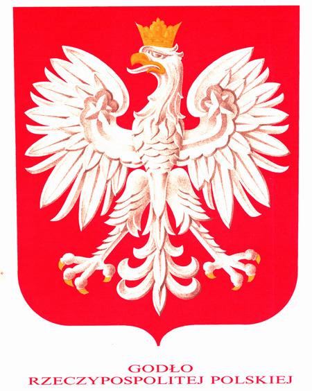 obowiązujący wzór godła Rzeczypospolitej Polskiej