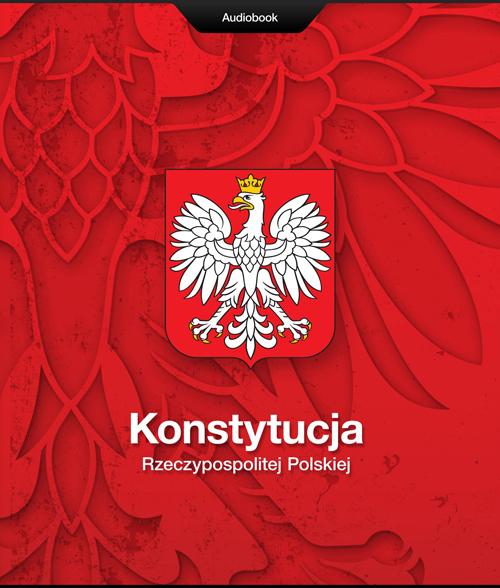 okładka audiobooka Konstytucja, proj. Tomasz Gorol