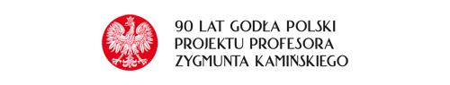 znak 90 lat orła Kamińskiego