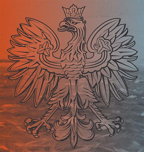 Paszport 2018 drugi wzór orła UV