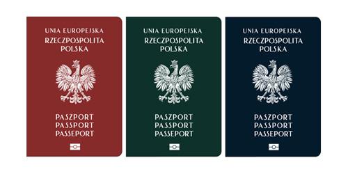 szkic okładki paszportu, alw