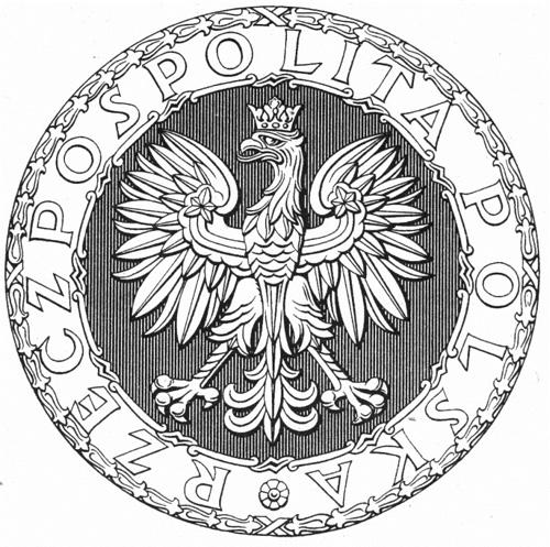 pieczęć Rzeczypospolitej 1927 r.