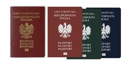 proj paszportu z orłem zprojektu  Orli Dom