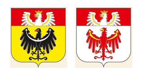 projekty herbów wojewódzkich J. Michta 3